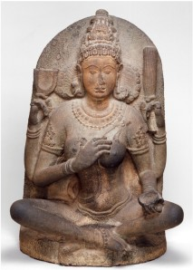 Yogini India, Tamil Nadu, Kanchipuram or Kaveripakkam, ca. 900- 975 Metagabbro,116 x 76 x 43.2 cm Arthur M. Sackler Gallery, Gift of Arthur M. Sackler, S1987.905